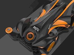 哈士奇设计(Husky Design)作品 - Mini 4WD