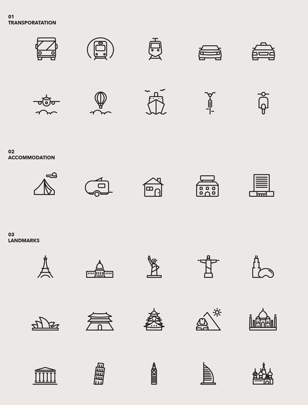著名旅游景点~|园林|UI|阿节-原创设计作品-站万类图标景观设计工程公司怎么样图片