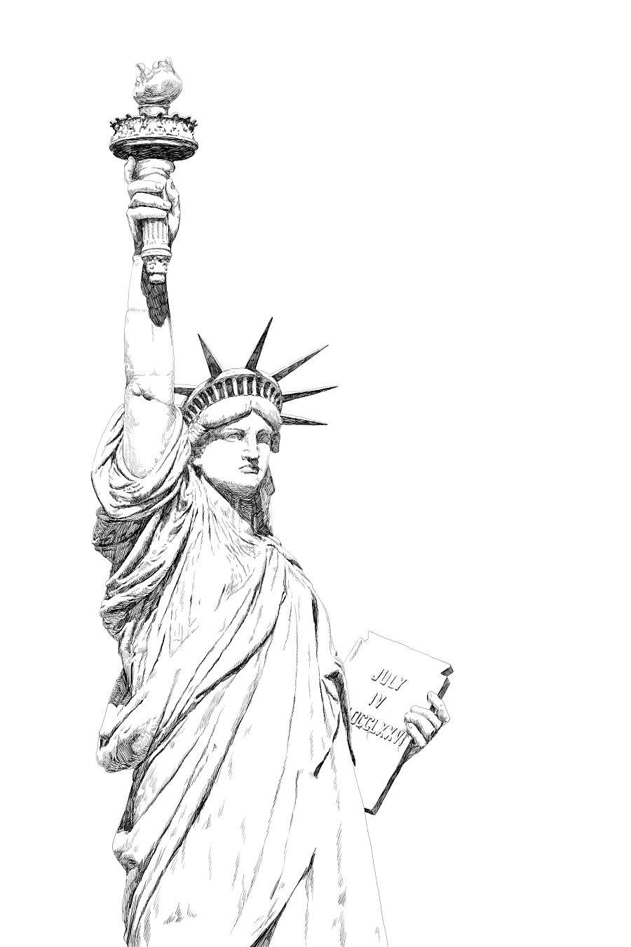 14年   自由女神像