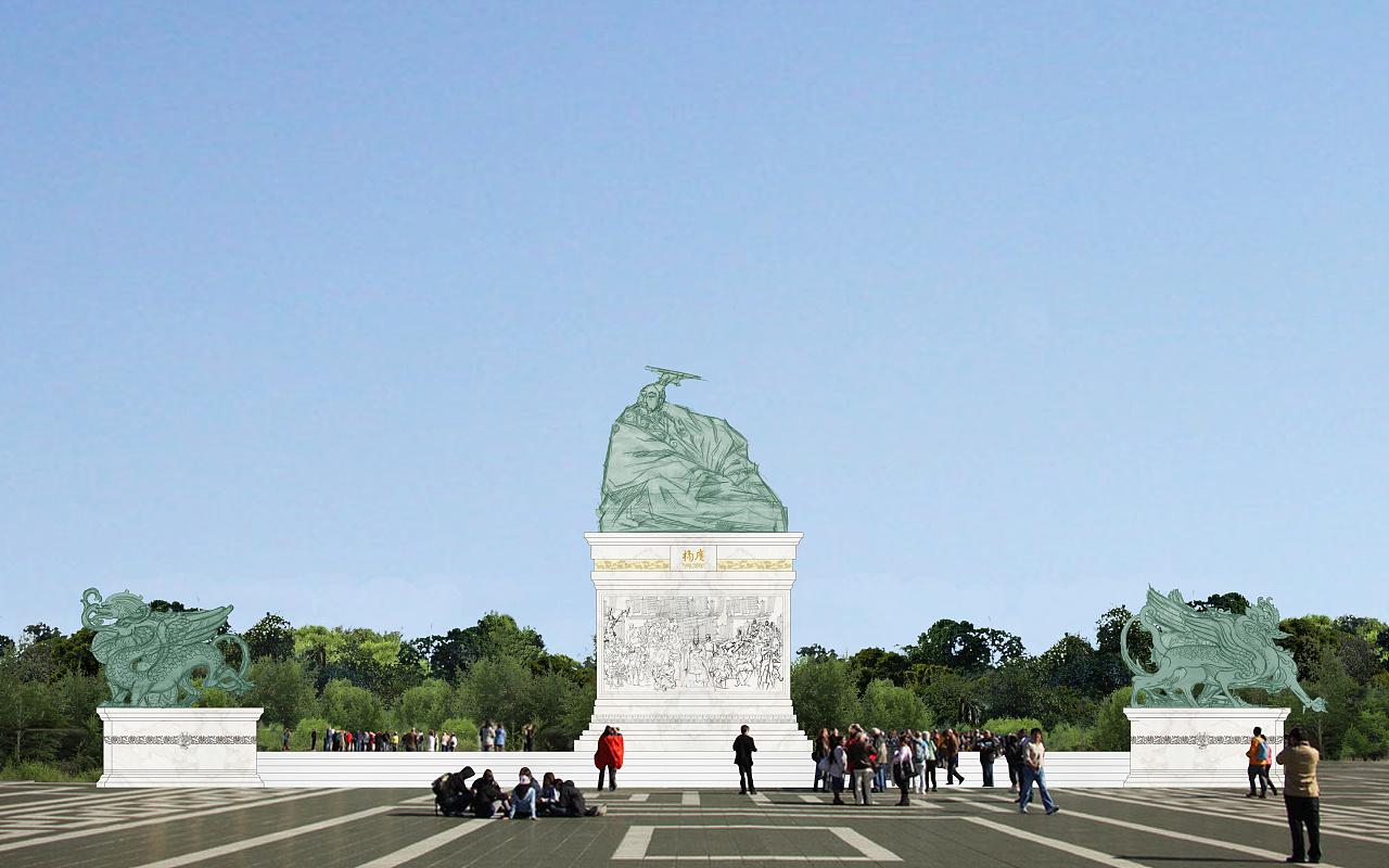 雕塑设计效果图图片