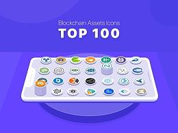 全球排名100强的区块链数字货币