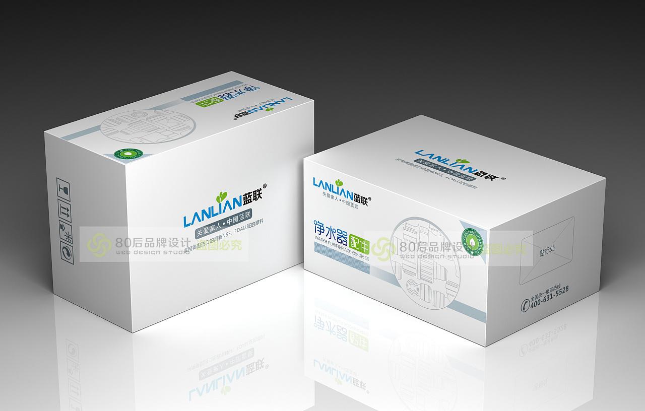 净水器配件包装 平面 包装 80后品牌设计 - 原创作品图片
