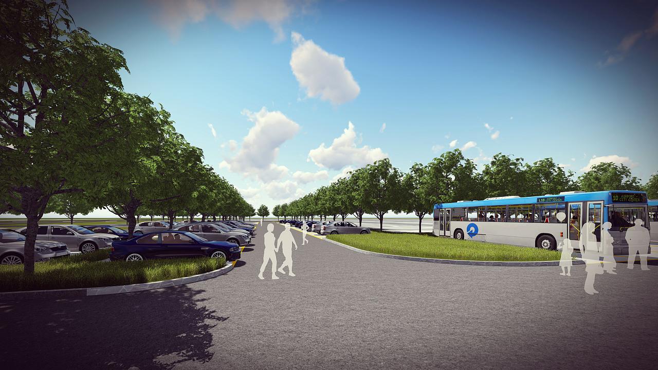 生态停车场效果图片