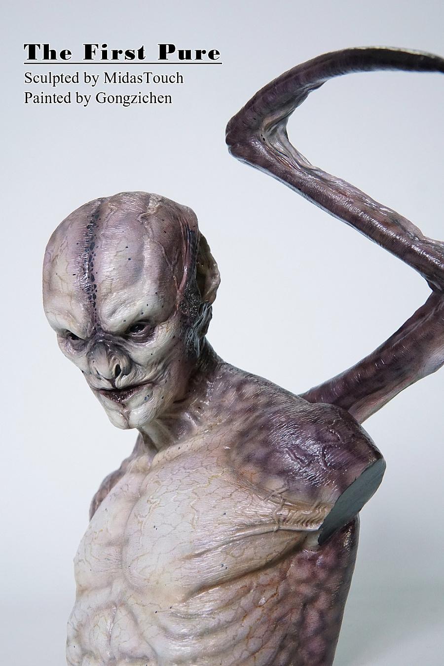 查看《 MidasTouch作品——黑夜传说马库斯胸像涂装完成品》原图,原图尺寸:1000x1500