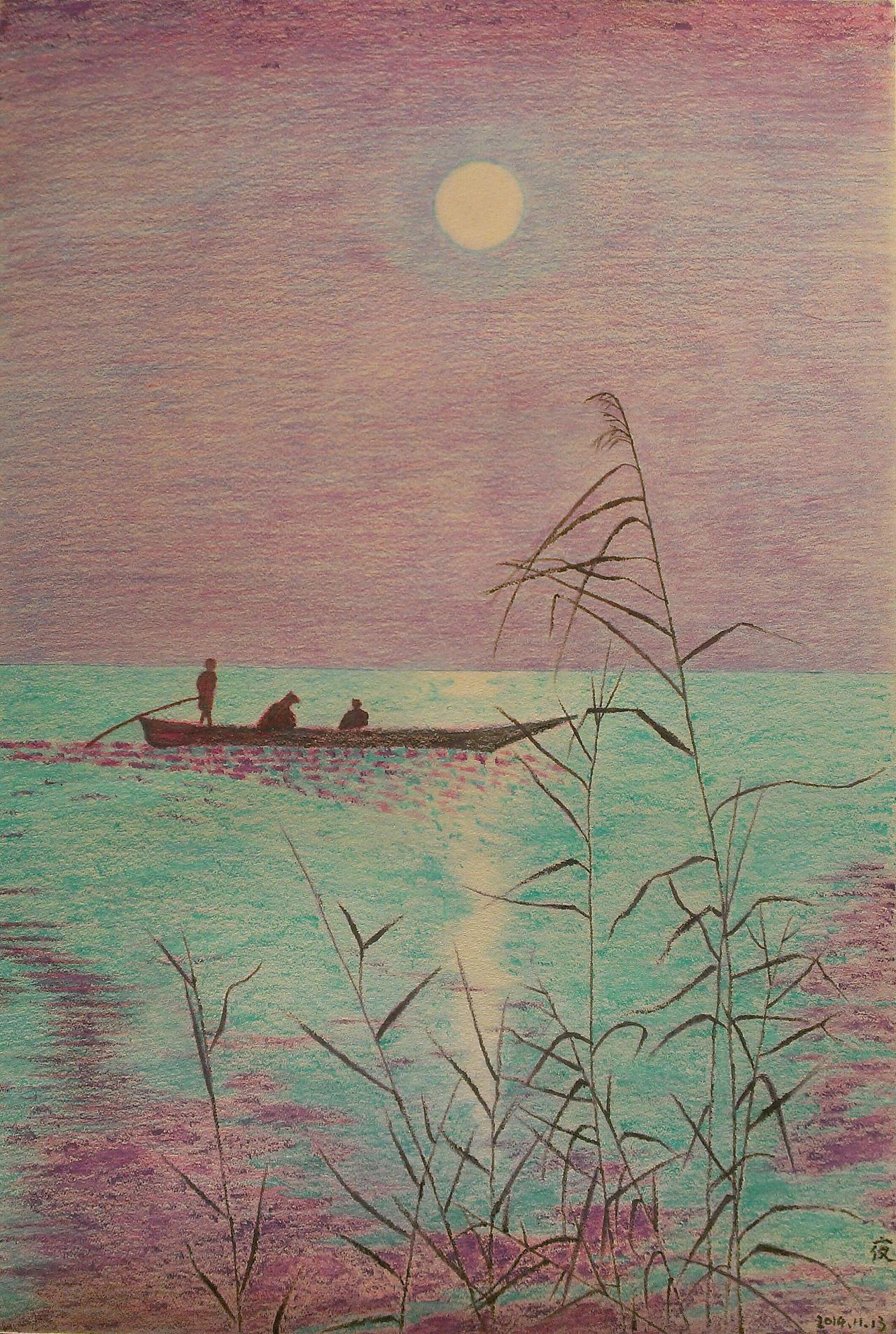 彩铅风景画作品图片_再见清晨彩铅风景|纯艺术|彩铅|再见清晨 - 原创作品 - 站酷 (ZCOOL)