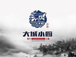 云南菜标志品牌设计民族风