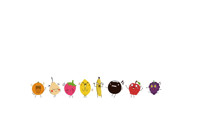 水果手绘壁纸ppt背景