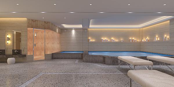 浅水湾洗浴中心装修效果图 郑州洗浴中心装修设计