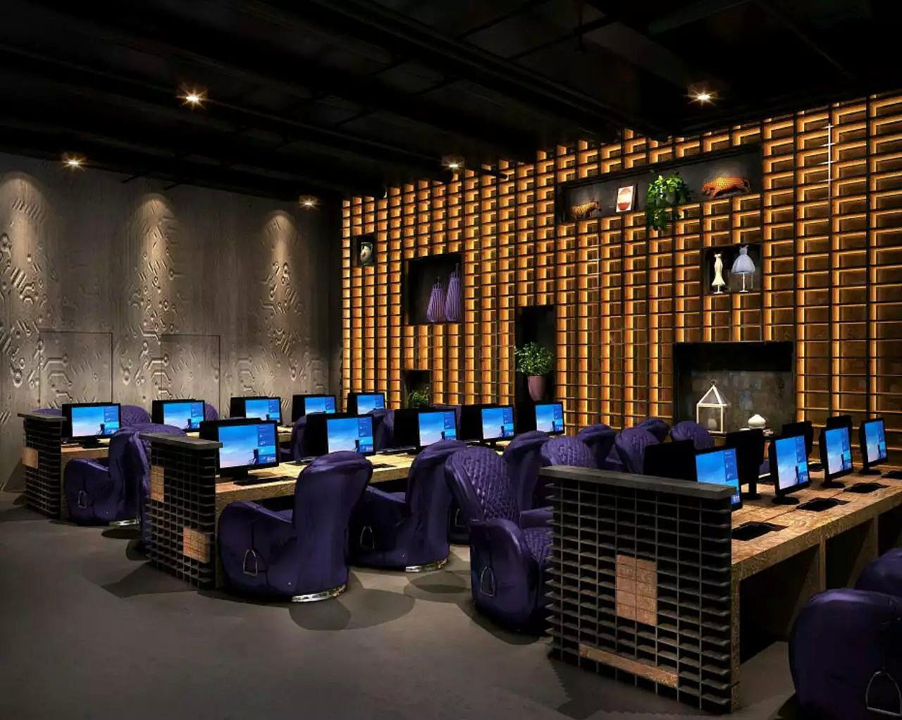 网咖新时代-毕节专业特色网吧网咖设计公司图片