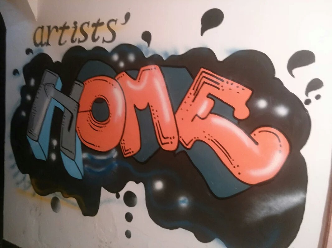 墙绘涂鸦图片