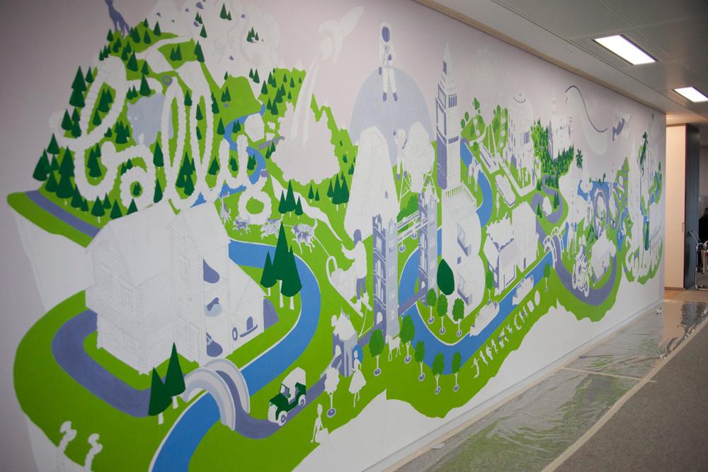 武汉街头涂鸦_武汉手绘墙涂鸦价格_武汉墙绘_3d立体画