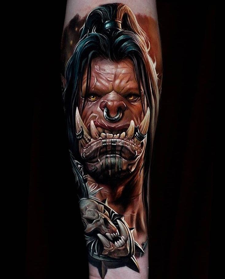 欧美男士女士不同种类纹身风格赏析.佳佳刺青图片