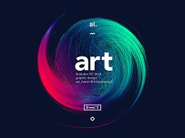 AI线性艺术