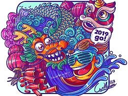 2019 is coming~B尔君与你一起迎新年!