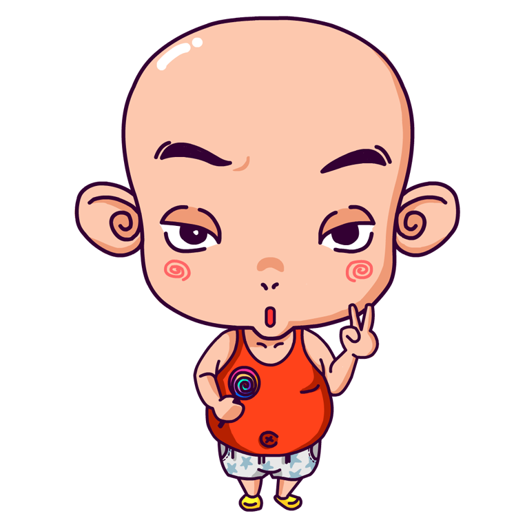漫画&插画&人物——小胖子光光图片