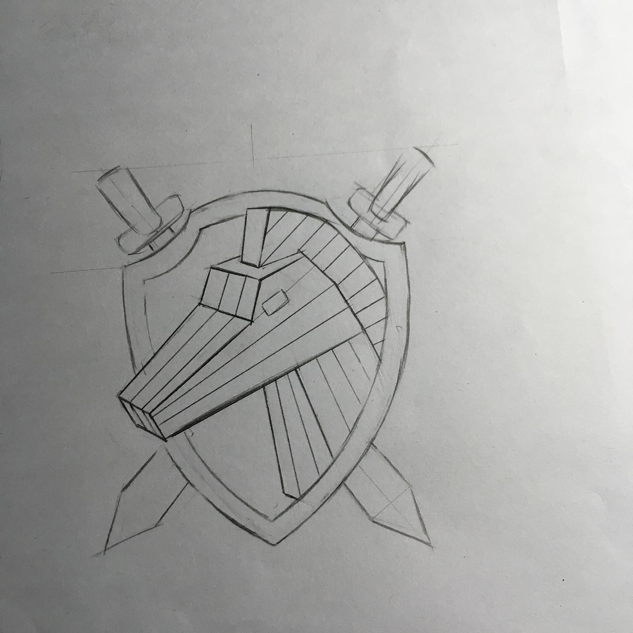 手绘·图标设计·铅笔画
