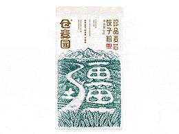 高鹏设计——高端特产面粉农产品包装设计