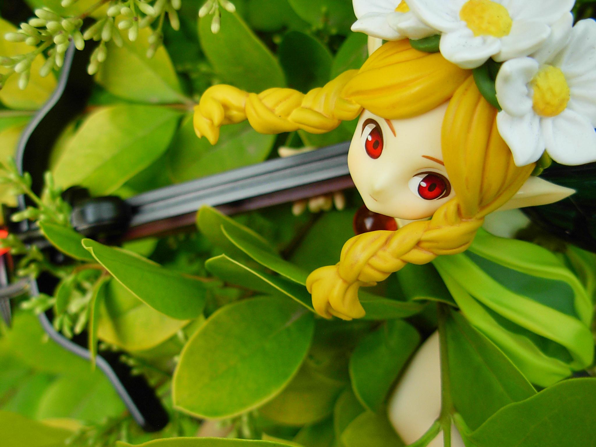 隐匿丛中的精灵公主 梅赛德斯——手办外拍 (木单反也