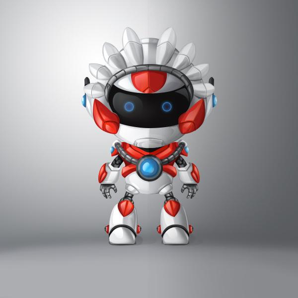 机器人设计图__绘画书法_文化艺术_设计图库图片