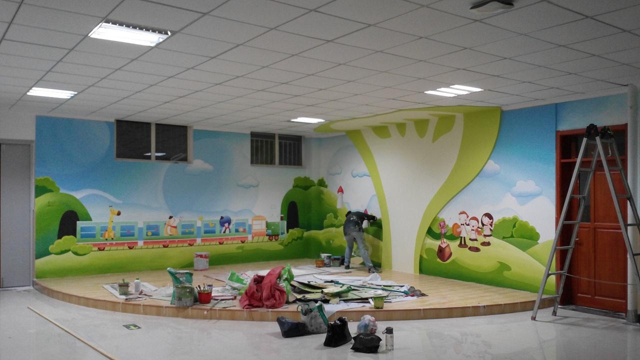 青岛绘美时尚装饰工程有限公司墙绘案例分享15