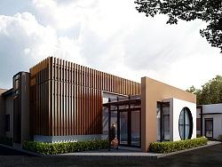 上东水岸商业社区建筑