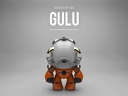 GULU/原创潮流玩具设计