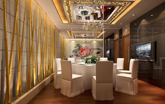 百色专业酒店装修设计公司《万福来商务酒店》|室内