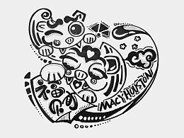 手绘系列:《随心绘》