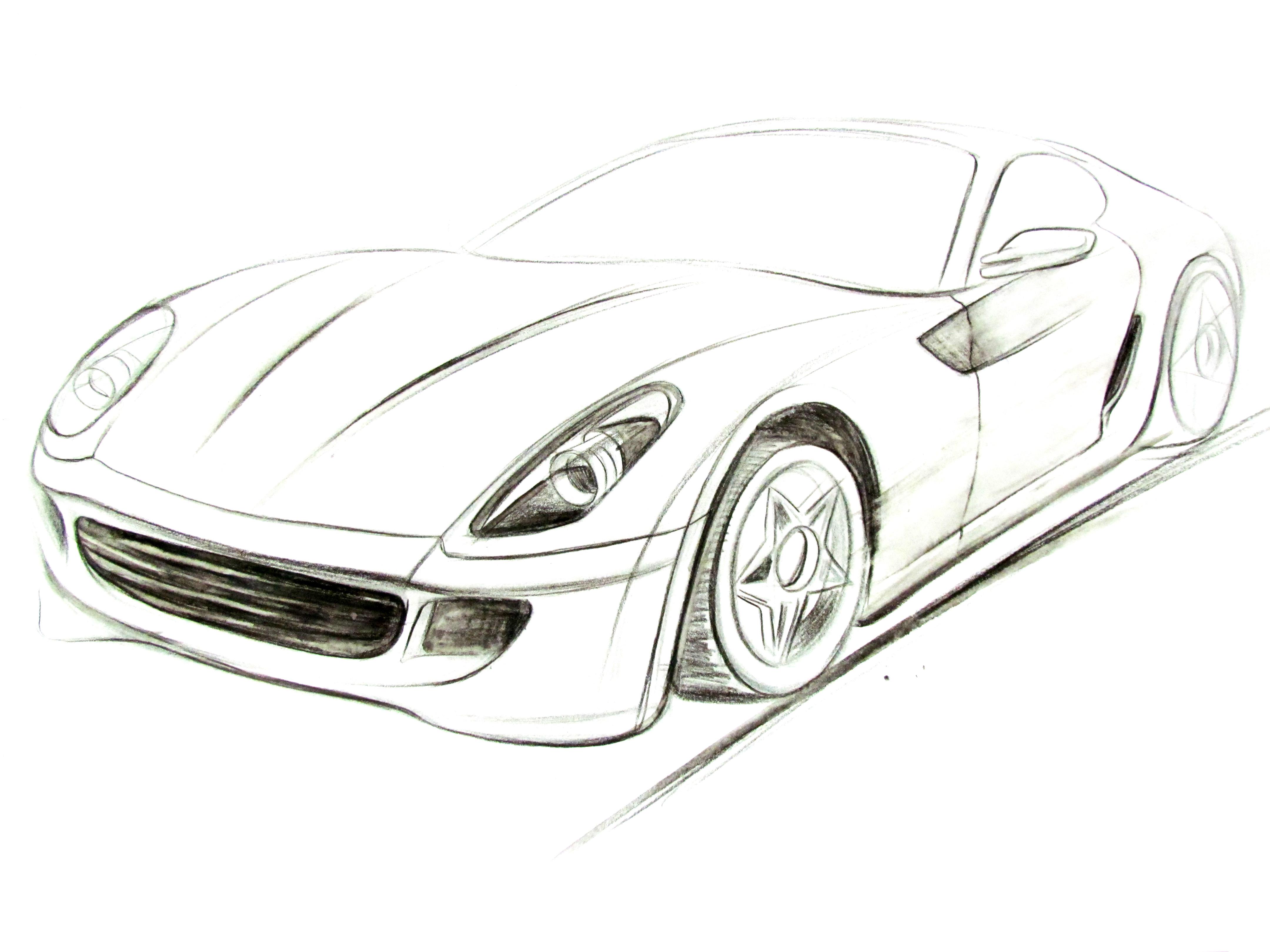 本科工业设计期间,工业产品,汽车手绘,平均