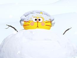 你一定也想推這么大的雪球!