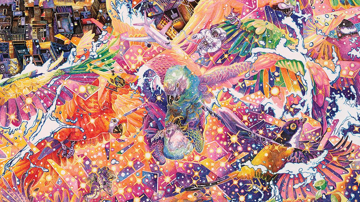 最终幻想13图片_天空之城 City of Sky |纯艺术|绘画|赵娜你好 - 原创作品 - 站酷 (ZCOOL)