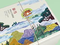 《乐作》猕猴桃、野生菌包装设计