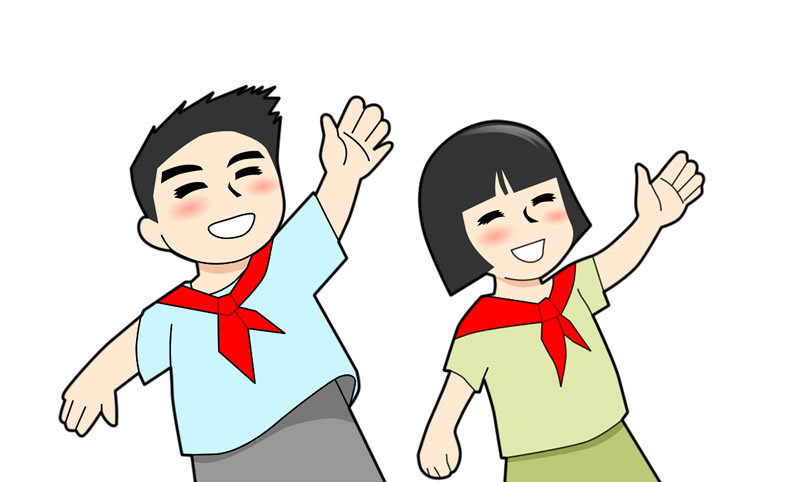 小学生班牌设计(附人物矢量源文件)图片