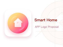 智能家居 SmartHome Logo proposal