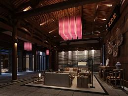 院落民宿酒店设计|成都度假酒店设计公司|新东家设计