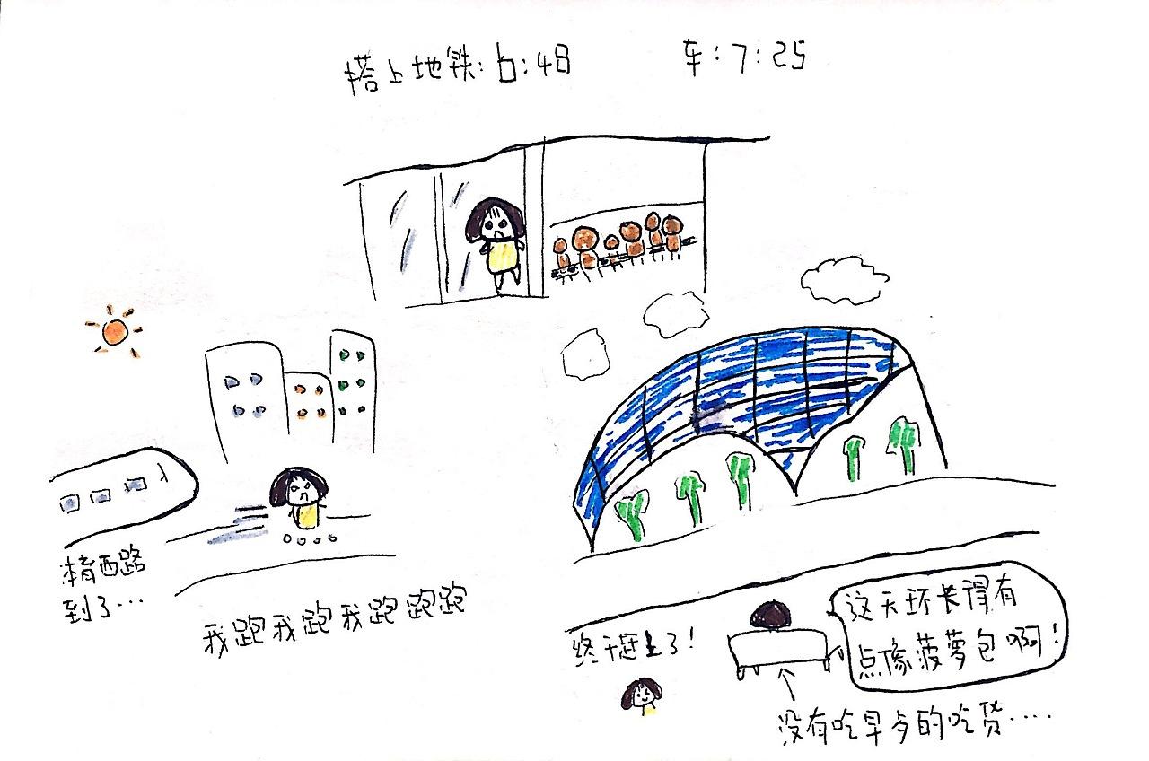 栗子旅行手绘——香港