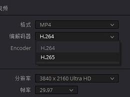 摄影视频h264和h265如何区别和设置