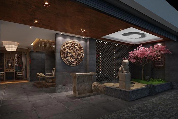 成都茶楼设计|成都茶室说明-成都a茶楼案例风格设计茶楼房地产网站设计装修图片