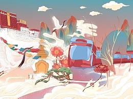 西藏·雪国列车
