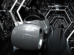 Mrousix概念形运动耳机C4D三维产品动画