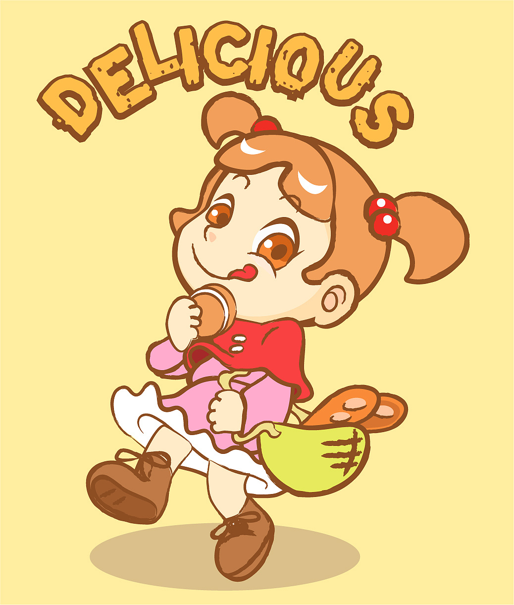 吃货小女孩