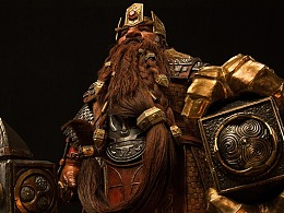 《魔兽》-麦格尼·铜须Magni Bronzebeard 25寸精致雕像