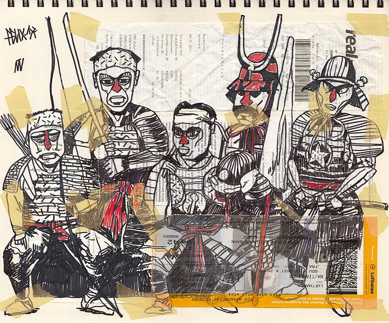 sketchbook景观手绘