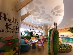 朗昇设计|深圳Hello Kitty Secret Path餐厅设计