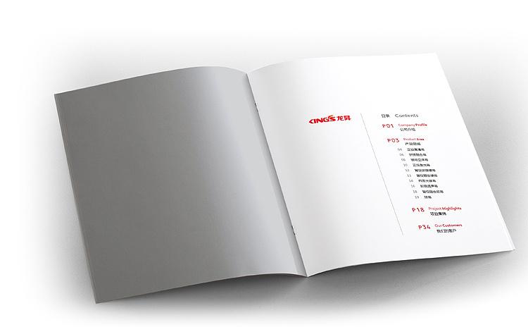画册设计稿 内页效果 宣传册版式排版 企业目录 产品介绍图片