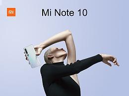 小米欧洲Mi Note10系列(即国内CC9 Pro)海报拍摄