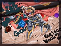 SurfaceBook2 神通GOKU包