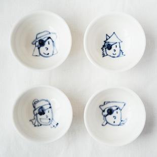 海盗 限量手绘小茶杯