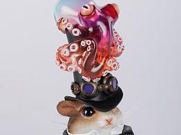 末匠丨镰田光司《Octopus&Hum》