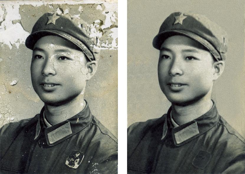 修复旧照片图片